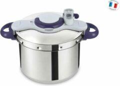 Zilveren SEB CLIPSO MINUT PERFECT Snelkookpan P4624900 9L Hoestlampen inclusief inductie