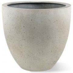 Luca Lifestyle Grigio plantenbak Egg Pot S antiek wit betonlook
