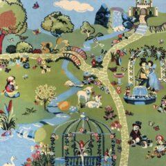 Sens Kids Rugs Fantasia kindervloerkleed - kindertapijt - 100 x 100 cm - wasbaar - zacht - duurzame kwaliteit - speelgoed