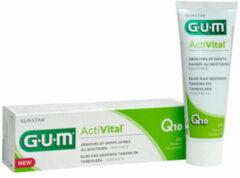 GUM Tandpasta ActiVital - 4x 75 ml - Voordeelverpakking