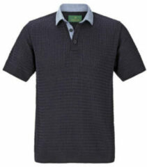 Charles Colby polo T-shirt RUSSEL Plus Size donkerblauw