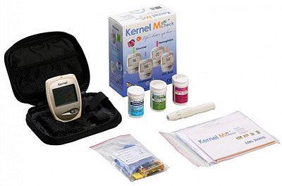 Afbeelding van Testjezelf.nu Multicheck PLUS - Glucose, Cholesterol & HB meter in één