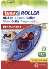 Transparante Tesa® Tesa Roller Permanent Gluing ecoLogo, adhesive roller, disposable, 8.5m:8.4mm