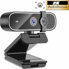 Zwarte Missan Online Missan: Webcam 4K FULL HD Met Cover Hoog Kwaliteit Camera Usb / Professioneel AUTOFOCUS Webcam / StreamCam / Webcam voor pc met USB / Camera voor vergadering / Windows en Apple Mac / Meeting / Skype / Facetime / Zoom / Twitch