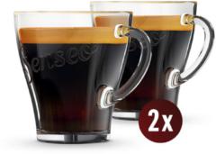 Philips Senseo Exklusive Glastassen für Kaffeemaschine CA6510/00
