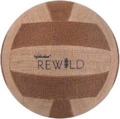 Waboba Volleybal Rewild 23,5 Cm Jute/rubber Bruin