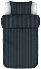 Donkerblauwe MARC O'POLO Mulji Dekbedovertrek Deep blue - Eenpersoons – 140x220 cm + 1 kussensloop 60x70 cm