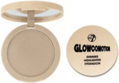 Creme witte W7 Glowcomotion Shimmer Highlighter Eyeshadow