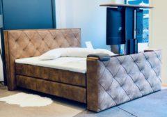"""SleepNext CHIVA Luxe Boxspring met TV Lift tot 55""""inch - 180x210cm - Actie!"""