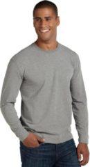 Coolibar UV shirt Longsleeve Heren - Grijs/Gemeleerd - Maat XL