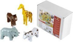 Theo Klein Funny Puzzle - Magnetische puzzel 8 dieren