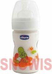 Transparante Chicco 150ml Nature Glas zuigfles - Siliconen
