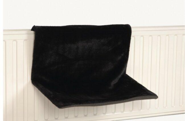 Afbeelding van Beeztees Sleepy - Kattenhangmat - Zwart - 46x31x24 cm