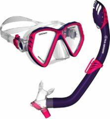 US Divers Regal Combo - Snorkelset - Kinderen - Paars/Rood