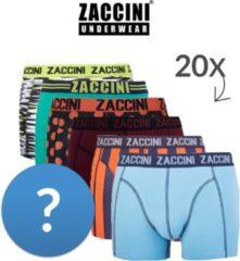 Zaccini 20 boxershorts verrassingsdeal-S