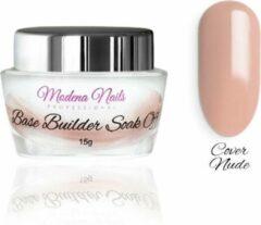 Huidskleurige Modena Nails Base Builder Soak Off - Cover Nude 15g.