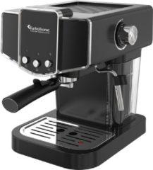 Zwarte TurboTronic CM23 Espresso Machine Retro Pistonmachine 19 Bar pomp
