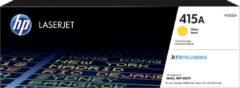 HP 415A W2032A Tonercassette Geel 2100 bladzijden Origineel Tonercassette