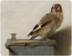 Beige Lanzfeld (museumwebshop.com) Muismat , Carel Fabritius, Het Puttertje