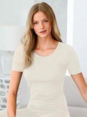 Shirt korte mouwen en ronde hals Van Speidel wit