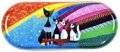 Fridolin Brillenkoker Rosina Wachtmeister Under the rainbow met katten