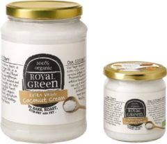 Royal Green Royal groen Kokos cooking cream extra virgin 325 Milliliter