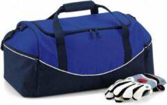 Quadra Sporttas - 55 Liter - Blauw-Wit