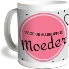 Roze Fotofabriek Mok: voor de allerliefste moeder - moederdag cadeau