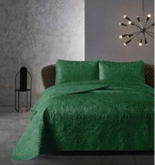 Creme witte Dreamhouse Bedsprei - Classico - Gewatteerd - Luxe uitstraling - Incl. Kussenslopen - Creme