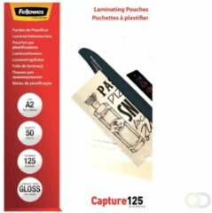Fellowes lamineerhoes Capture125 ft A2, 250 micron (2 x 125 micron), pak van 50 stuks