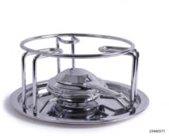 Zilveren Kitchen Tools Rechaud Chroom Met Brander Warmhouder warmhoudplaat