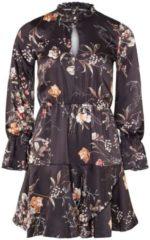 Kleid APART schwarz-multicolor