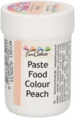 Oranje FunCakes Eetbare Kleurstof Pasta Perzik 30g