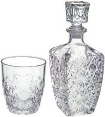 Transparante Bormioli Rocco Dedalo Whiskeyset - 7-delig - Glas