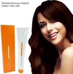 Goudkleurige Z.ONE Color The New Attitude Hair Color - 100ml - permanente kleuring crème - 5.34 Golden Copper Light Brown