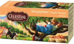 Celestial Seasonings Celestial Season Sleepytime Peach Herb Tea (20st)