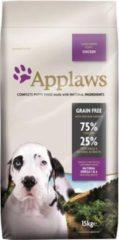 Applaws puppy chicken large breed hondenvoer 15 kg