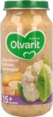 Olvarit Maaltijd 15m Bloemkool Kalkoen Aardappel 250 gr