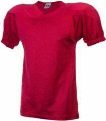 MM American Football Jersey Shirt - Rood - XX-Large
