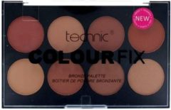 Bruine Technic Colour Fix Bronze Palette