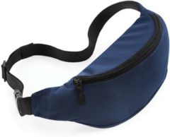 Merkloos / Sans marque Heuptasje/fanny pack navy blauw 38 x 14 x 8 cm festival musthave