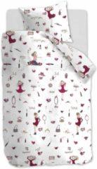 Beddinghouse Kids Fashion Dekbedovertrek - Katoen - Ledikant (100x135 Cm + 1 Sloop) - Roze