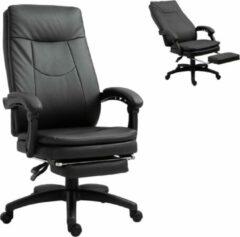 NiceGoodz Bureaustoel - Ergonomische bureaustoel - Game stoel - Gaming stoel - Met voetensteun - Tot 150 Kg - Zwart