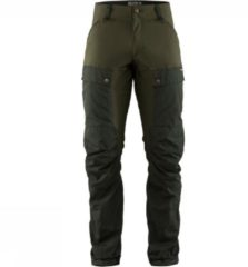 Fjällräven - Keb Trousers - Trekkingbroeken maat 54 - Regular - Fixed Length, bruin/olijfgroen
