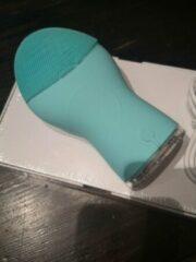 Groene Siruini gezichtsborstel-gezichtsreiniger elektrisch-elektrische gezichtsreiniger-siliconen gezichtsborstel voor alle huidtypen-ultrasonische gelaatsreiniger