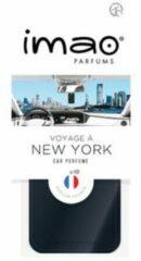 Universeel Imao PP 07300 Parfumkaart Voyage à New-York (zwart)