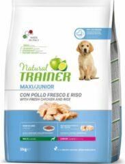 Natural trainer dog junior maxi chicken 3 KG