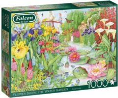 Falcon legpuzzel Flower Show - The Water Garden - 1000 stukjes