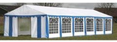 Blauwe VidaXL - Partytent 12x6 meter - Blauw