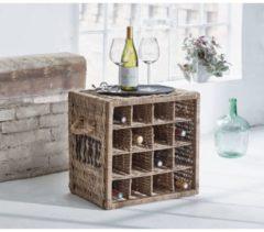 MiaVILLA Flaschenregal Wine, Rattan